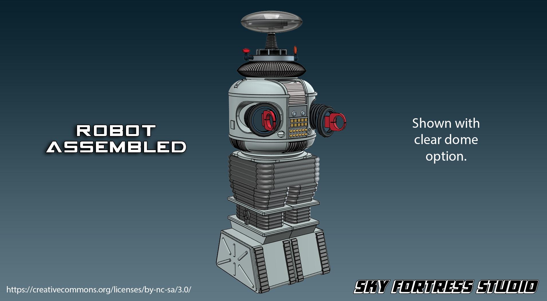 Robot B9 3D Model