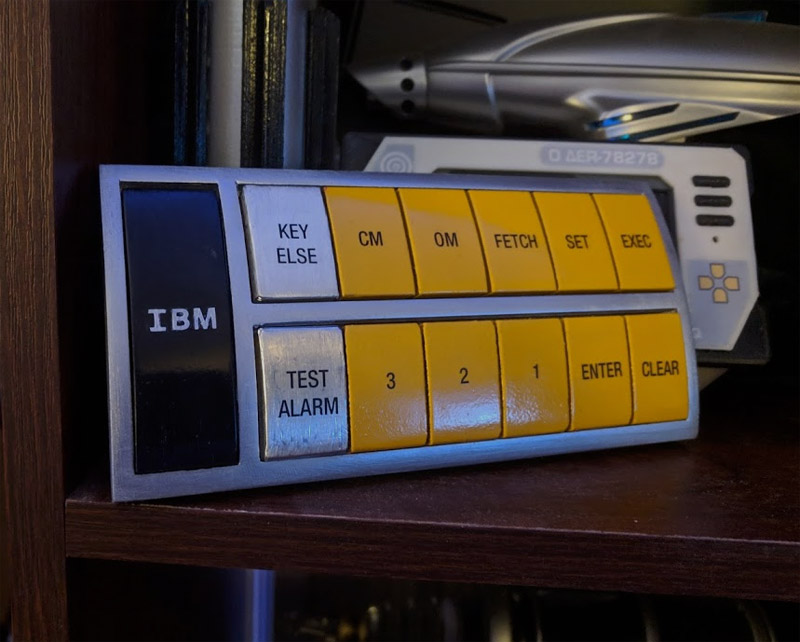 2001: A Space Odyssey suit control pad replica
